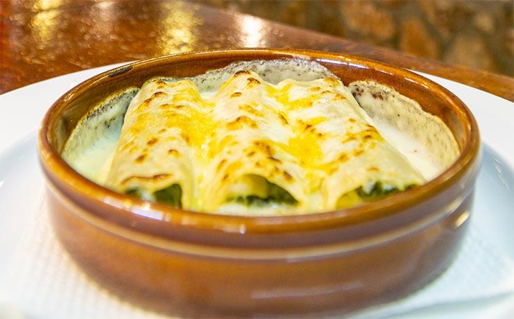 Canelons-espinacs